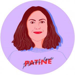 bienvu upcycling mode charlotte dereux patine portrait illustration flora gressard 3