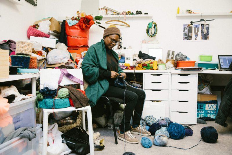 bienvu upcycling design eugenie delariviere les resilientes portrait photographie francois rouzioux 9