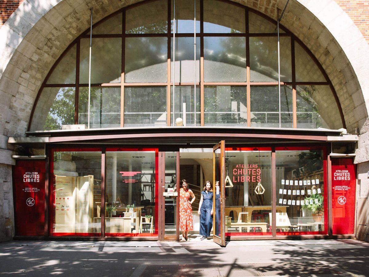 bienvu upcycling design lieux paris ateliers chutes libres camille chardayre amandine langlois portrait photographie francois rouzioux 11