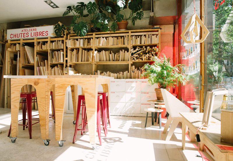 bienvu upcycling design lieux paris ateliers chutes libres camille chardayre amandine langlois portrait photographie francois rouzioux 13