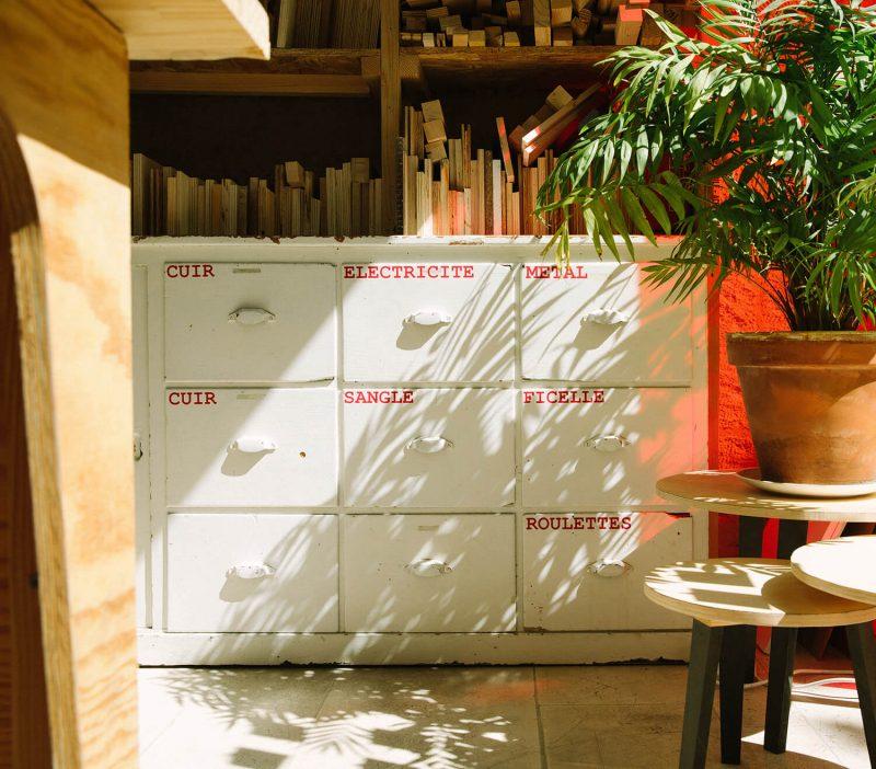 bienvu upcycling design lieux paris ateliers chutes libres camille chardayre amandine langlois portrait photographie francois rouzioux 15