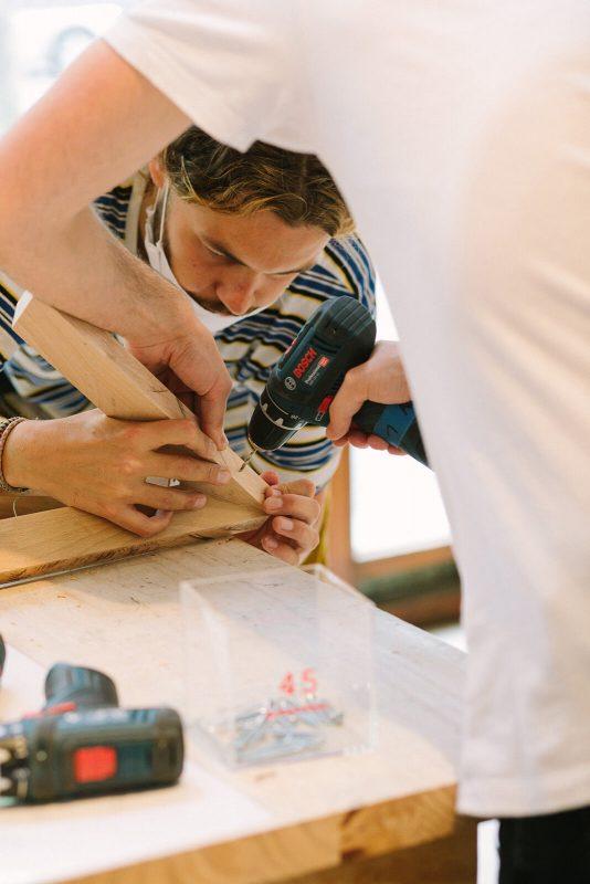 bienvu upcycling design lieux paris ateliers chutes libres camille chardayre amandine langlois portrait photographie francois rouzioux 16