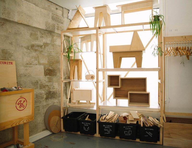 bienvu upcycling design lieux paris ateliers chutes libres camille chardayre amandine langlois portrait photographie francois rouzioux 2