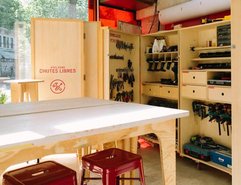 bienvu upcycling design lieux paris ateliers chutes libres camille chardayre amandine langlois portrait photographie francois rouzioux 5