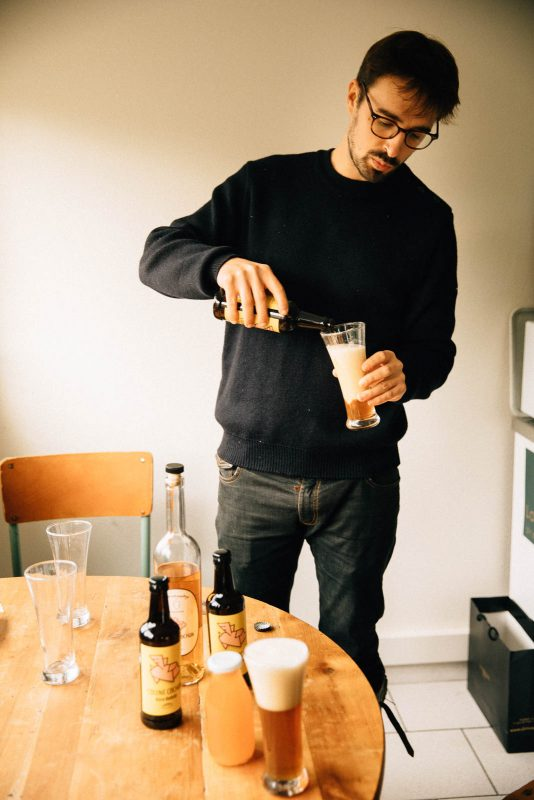 bienvu upcycling zero dechet food bieres jus eaudevie couinecochon leperche hugo martin photographie francois rouzioux 11