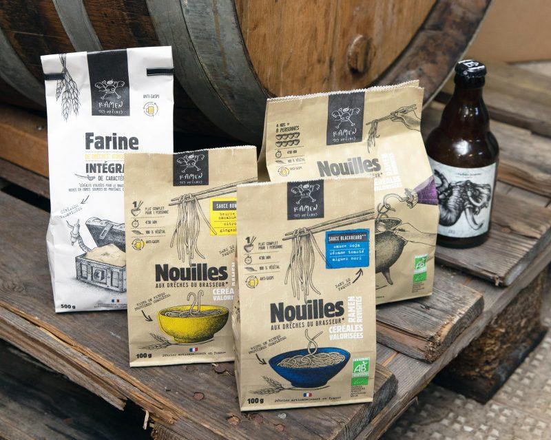 bienvu upcycling zero dechet food nouilles biere ramen tes dreches paris sabrina michee photographie francois rouzioux 14