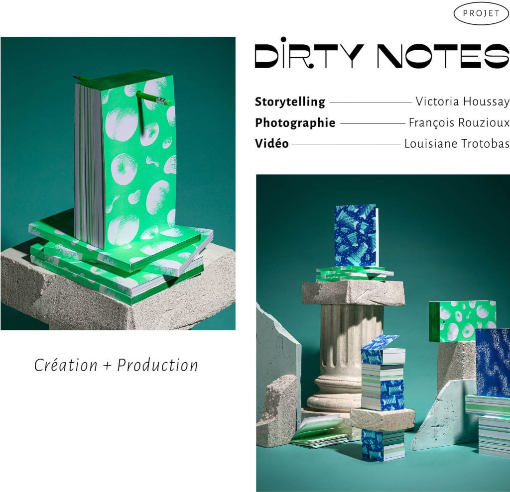 agence bienvu upcycling creation production paris dirtynotes photographie video set design storytelling 3.2